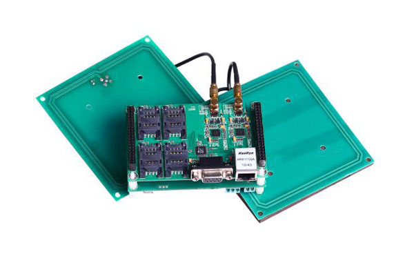 Dual-interface-Smartcard Lees- Module, 4 SAM Slot