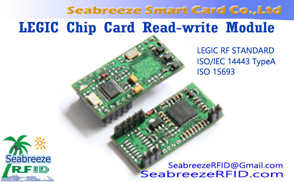 LEGIC Chip Card Maca nulis Modul, LEGIC Reader Modul