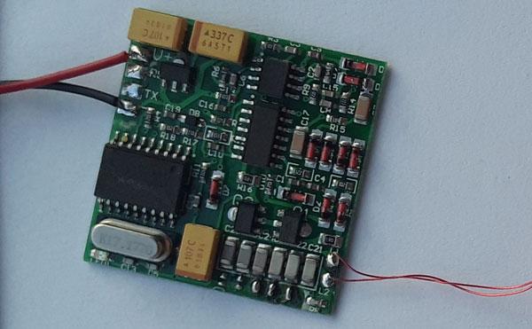 Холын 134.2KHz Мал Tag уншигч модуль