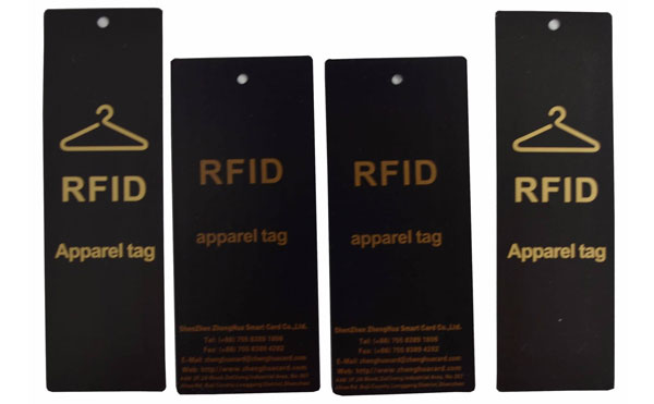 RFID Apparels Paper Tag, UHF Klere Security Papier Tag