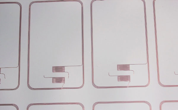 RFID Prelam Inlay, Prelam Inlay Layout, RFID Inlays with Copper Antenna