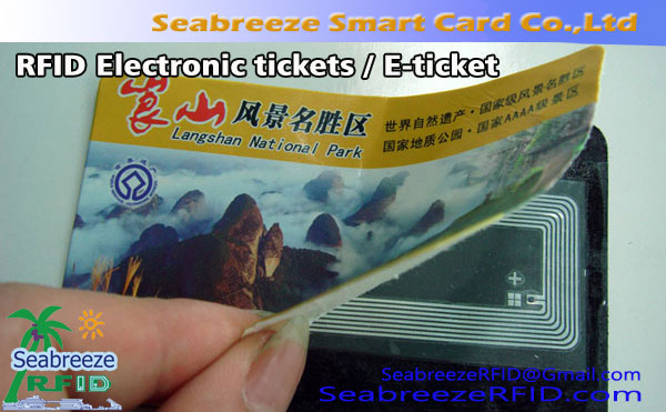 RFID Electronic tickets, E-ticket