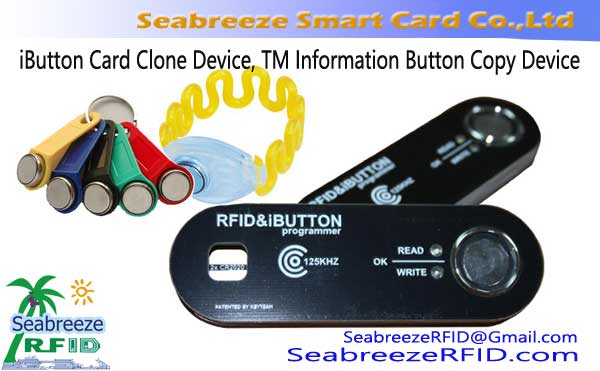 Dispozitiv iButton Card Clone, TM Informații dispozitiv Button Clone, iButton Keychain Copiere dispozitiv