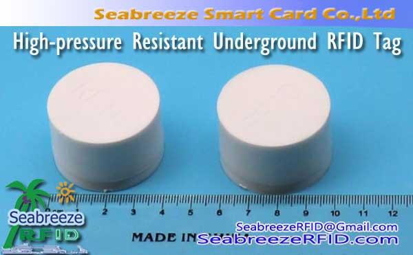 Teška tlaka Otporan Bury RFID oznake, Visokotlačni Otporan Podzemni UHF oznake