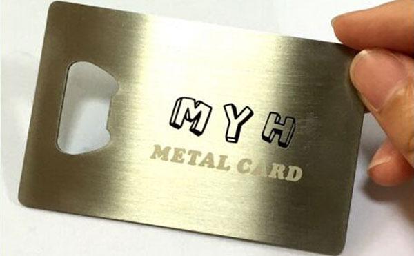 Металл Кредит карт Лонхны бөглөө онгойлгогч, Opener сурталчлах, Бэлэг дурсгалын Decrowner