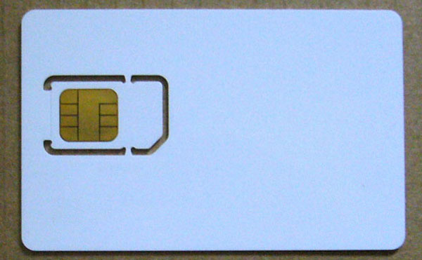 NXP Java Card J2A080, 80KB