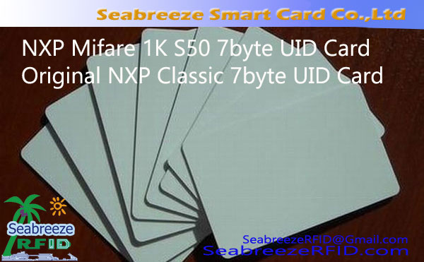 Original NXP Classic 7byte UID Card, NXP Mifare 1K S50 7byte UID Card