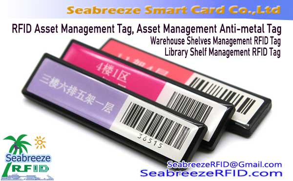 Asset Management RFID Tag, Shelves Management Tag, RFID Asset Management Anti-metal Tag