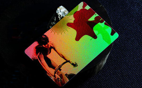 RFID Laser Card, Laser Effect Anti-counterfeiting Card