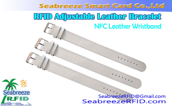RFID Leather Wristband, NFC Leather fehin-tanana
