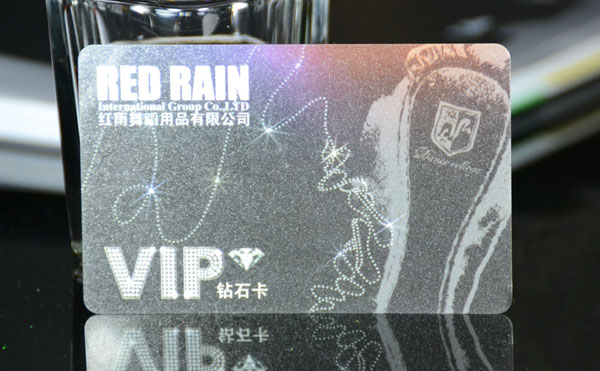 RFID Pearlescent Card, Stäerenhimmel Card, Pearl Ink Card