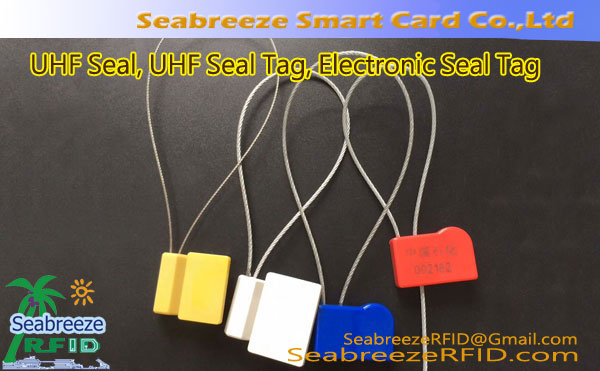 UHF Seal, Seal tag elektronik, Security Seal