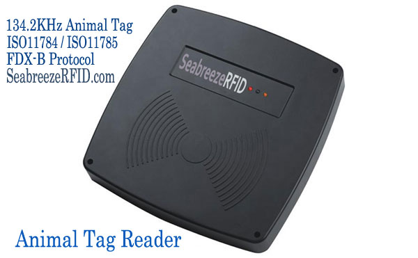 Fast Långdistans 134.2KHz Animal Tag Reader
