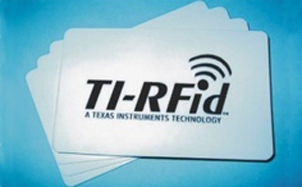 Low Frequency TI Chip Card, 134.2KHz TI Chip Card