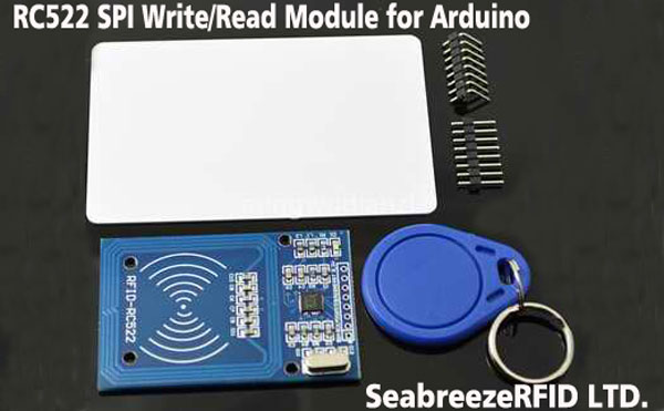 MF RC522 SPI Write/Read Module for Arduino, RS232/RS485 Interface