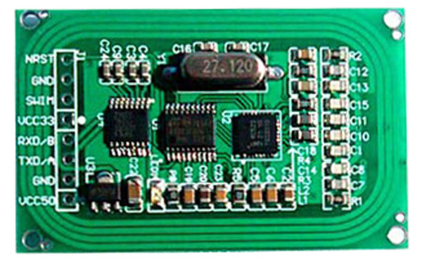 MF RC522 Write / read Module vir Arduino, UART Interface