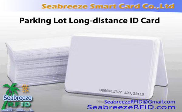Parkir Lot ID jarak jauh Card Tebal, Parkir Lot Long Range ID Card