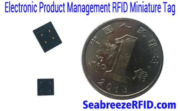RFID Miniature Plastic-coating Tag, Instrument Equipment Electronic Product Management RFID Micro Tag