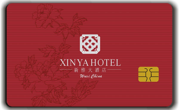 SLE4442 Contact Chip Hotel Door Card, SLE5542 Contact Chip Hotel Room Card