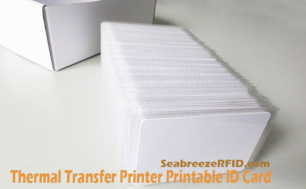 Thermal Transfer Printer Printable Plastic Card