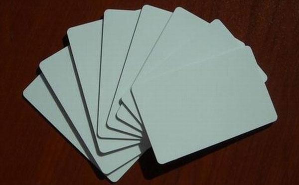 כרטיס לבן מזהה, 125כרטיס KHz Blank