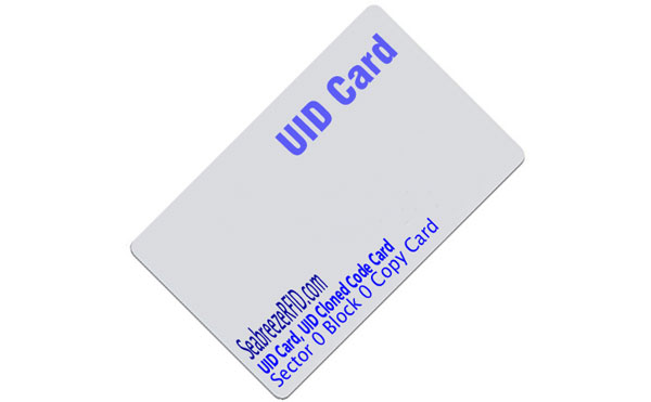 UID Card, UID Cloned Code Card