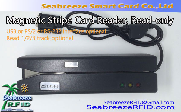 Reader Magnetic Stripe Card, Le za branje