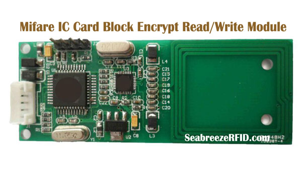Mifare IC-kort Block Krypter Read Write Module