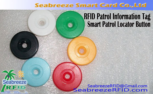 RFID Patrol Locator Button, Patrol Информация Point