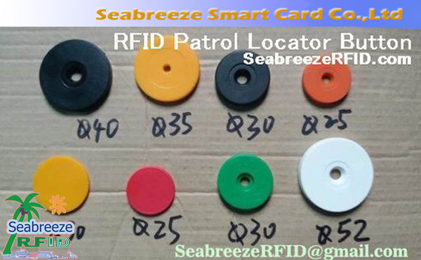 RFID Sensor Patrol Point, Patrol Address Button, Patrol Information Button, Electronic Patrol Point, 巡更信息點, Smart Patrol Locator Tag, 從海風智能卡有限公司.