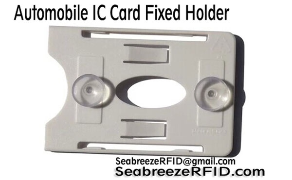 Holder Automobile IC karty, Automobil IC Card pevný držák, Smart Card Holder