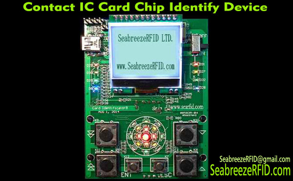 Kontakt IC Card Chip Identifikimi Device