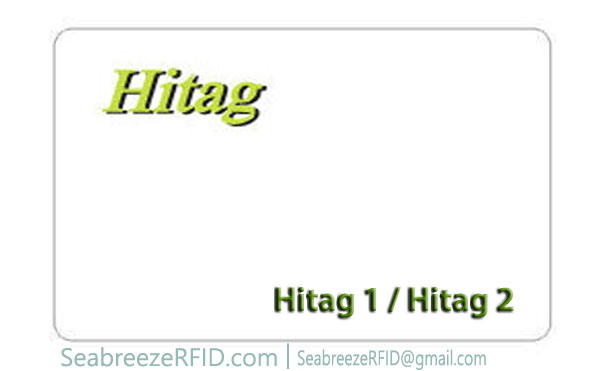 Hitag 1 Chip Card, Hitag 2 Chip karty