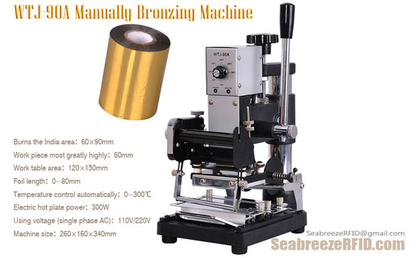 Manually Bronzing Machine
