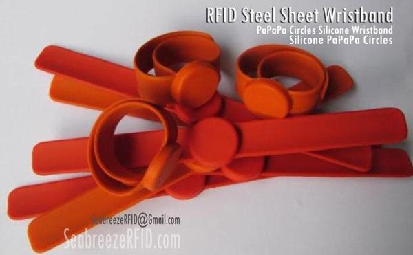 RFID çeliku Sheet rrip ore, Papapa Circles Silicone manshetë, Circles Silicone Papapa