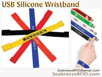 USB Silicone Bangle, Hi-speed USB3.0 USB Silicone Wristband, USB Flash Disk Bangle, U Disk Bangle, USB Wristband, USB Soft Silicone Wristband, from SeabreezeRFID.com