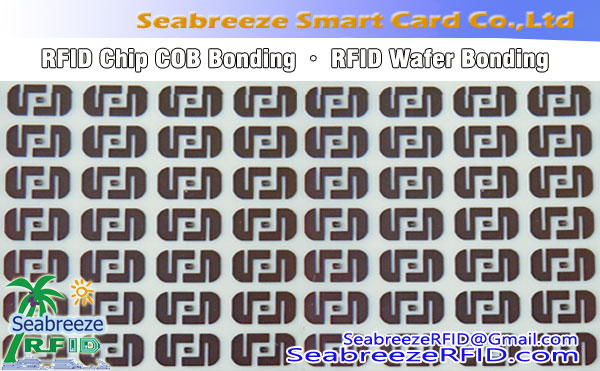 RFID Chip COB Bonding, Collage Wafer RFID, RFID COB traitement