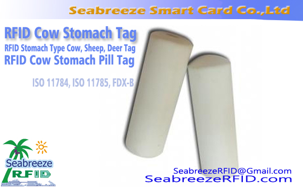 RFID Cow Stomach Tag, RFID Cattle Stomach Pill Tag