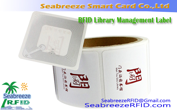 RFID Library Management etikett