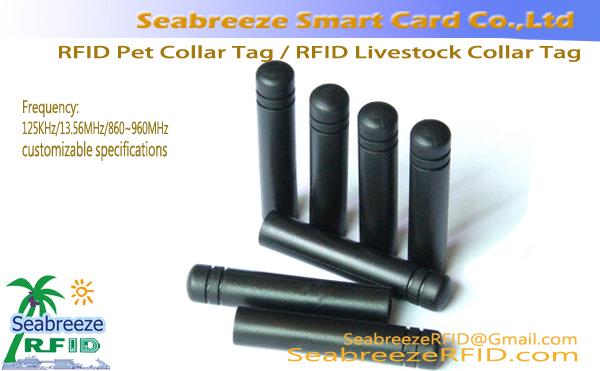 RFID Pet Clib Collar, RFID Pet Neck Tag, RFID Livestock Clib Collar, RFID Livestock Neck Tag, RFID Animal Collar Tag, Animal Neck Electronic Tag, RFID Livestock Farming Management Tag, ó SeabreezeRFID.com