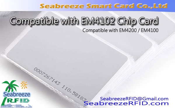 Compatible me EM4102 Chip Card, Compatible me EM4200 Chip Card
