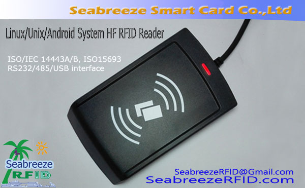 Linux/Unix/Android Operating System High-frequency RFID Reader, Multi-Operating System High-frequency RFID Reader