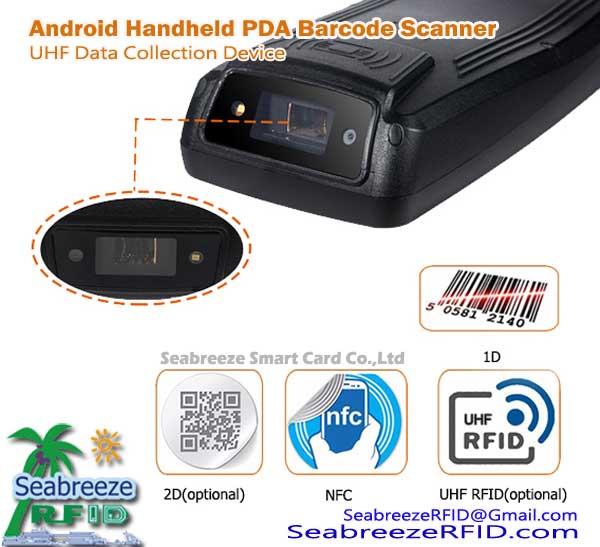 Rugged Android Boise PDA Barcode Scanóir UHF Bailiú Sonraí Gléas, from Shenzhen Seabreeze Smart Card Co.,Ltd.