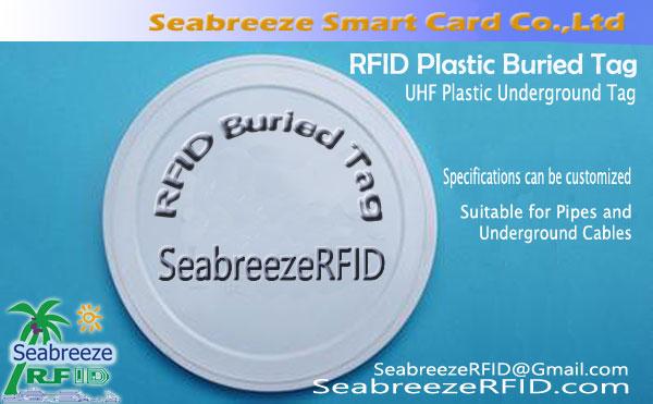 RFID en plastique Buried Tag, Tag UHF métro en plastique