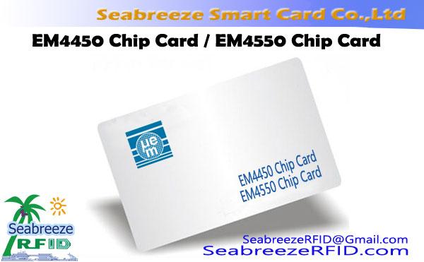 บัตรชิป EM4450, บัตรชิป EM4550