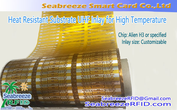 Heat Resistant Substrate UHF Inlay for High Temperature