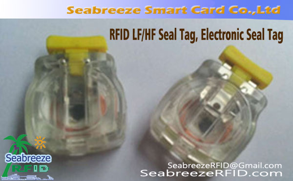 LF / HF Seal, Joint LF / HF Tag, Tag Seal électronique