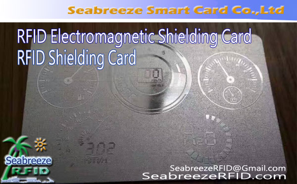 RFID Shielding Card, RFID Electromagnetic Shielding Card