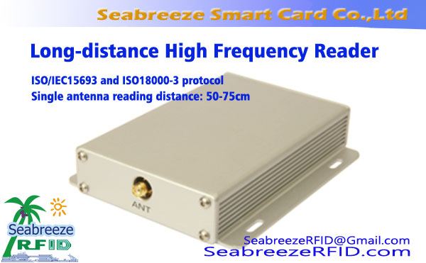 ISO IEC 15693 & ISO 18000-3 protocol High-frequency Long-distance Reader