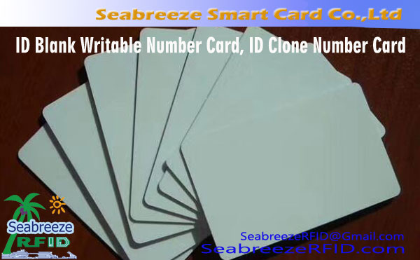 ID Blank Writable Number Card, ID clone Number Card